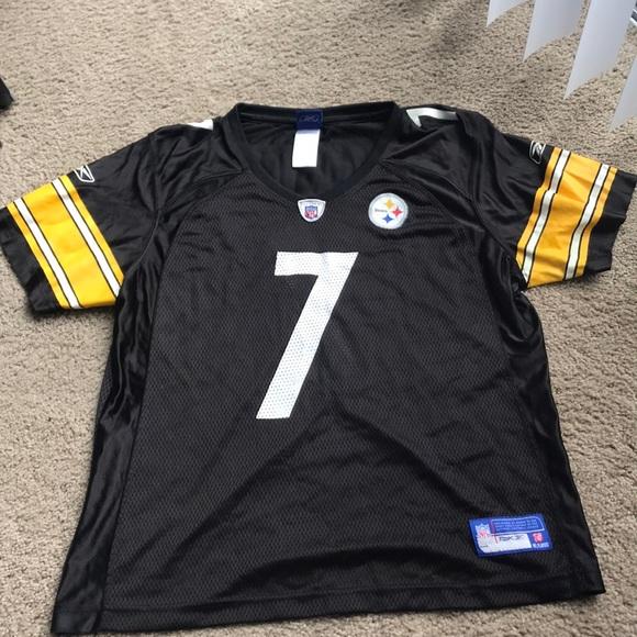 e42550db4 Reebok Tops - Pittsburgh Steelers Youth XL Roethlisberger Jersey